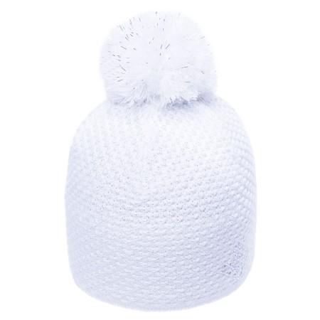 R-JET SPORT FASHION EXLUSIVE SILVER LUREX - Women's knitted hat