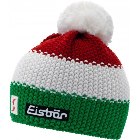 Knitted hat - Eisbär ITA STAR POMPON SP