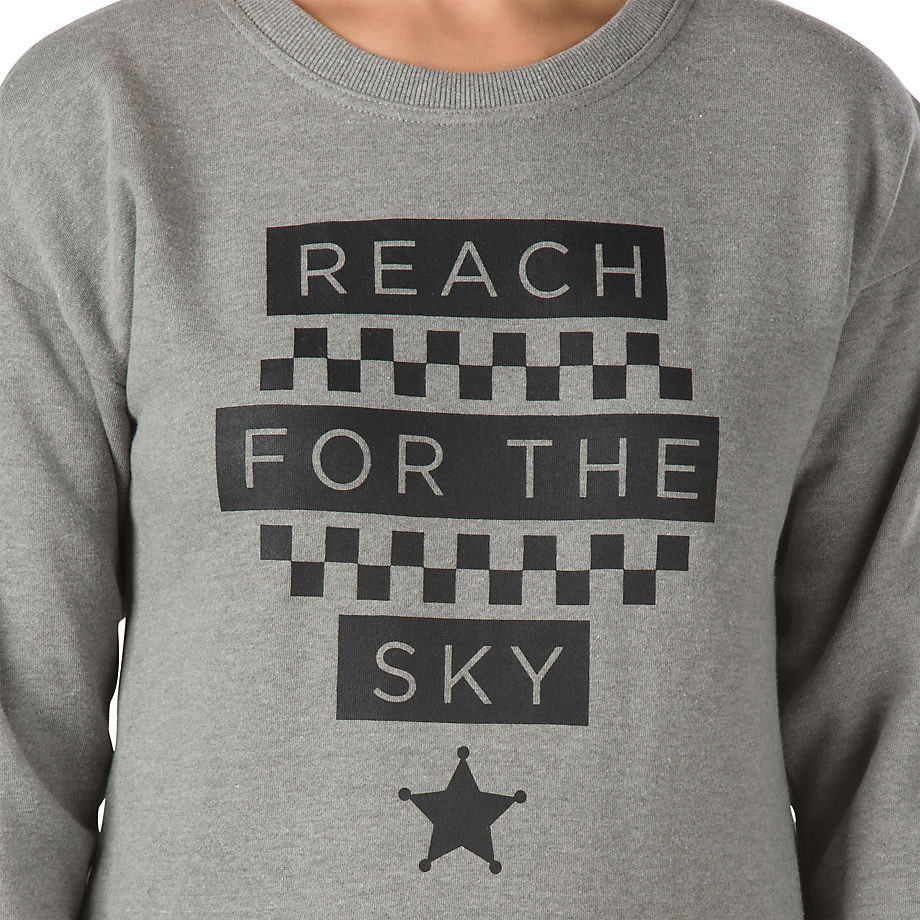 f937e83d34be Vans W REACH FOR THE SKY GREY HEATHER