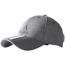 adidas 6 PANEL CLASSIC CAP 3 STRIPES MELANGE - Czapka z daszkiem