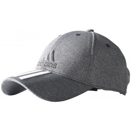 b9dc6a2a81b Kšiltovka - adidas 6 PANEL CLASSIC CAP 3 STRIPES MELANGE - 1