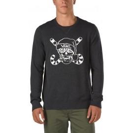 Vans M VAN DOREN HOLIDAZE BLACK HEATHER - Men's sweater