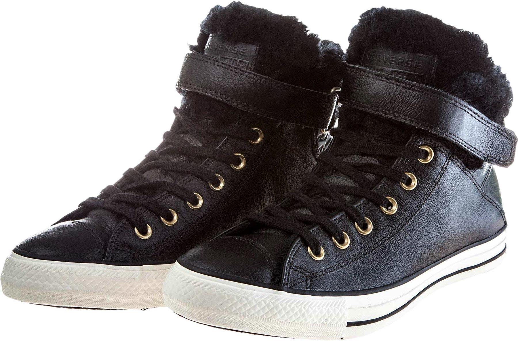 Converse CHUCK TAYLOR ALL STAR BREA HI LEATHER. Női téli tornacipő. Női  téli tornacipő e9c10fc289