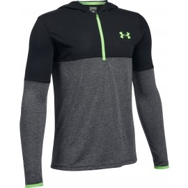 Under Armour THREADBORNE 1/4 ZIP HOOD - Hanorac de băieți