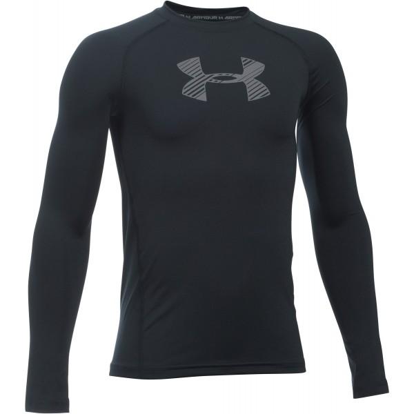 Under Armour ARMOUR LS - Chlapčenské tričko s dlhým rukávom