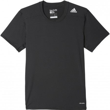 7a686601fcc Men s sports T-shirt - adidas TECHFIT BASE FITTED TEE - 1