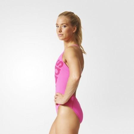 Dámské jednodílné plavky - adidas SOLID SWIMSUIT - 5