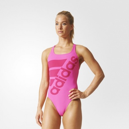 Dámské jednodílné plavky - adidas SOLID SWIMSUIT - 3