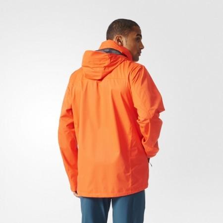 Pánská outdoorová bunda - adidas WANDERTAG JACKET SOLID COLORWAY - 4
