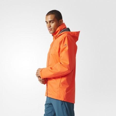 Pánská outdoorová bunda - adidas WANDERTAG JACKET SOLID COLORWAY - 5