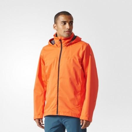 Pánská outdoorová bunda - adidas WANDERTAG JACKET SOLID COLORWAY - 3
