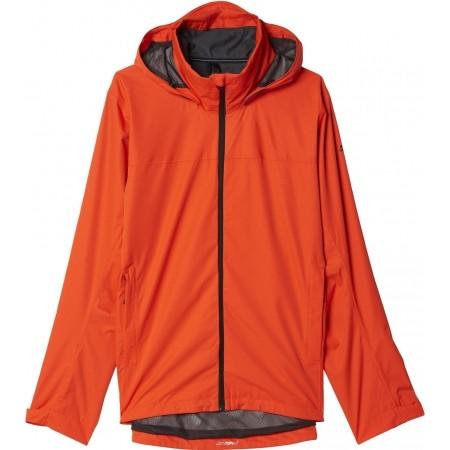 Pánská outdoorová bunda - adidas WANDERTAG JACKET SOLID COLORWAY - 1