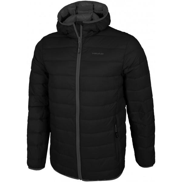 Head FLUX černá M - Pánská péřová bunda