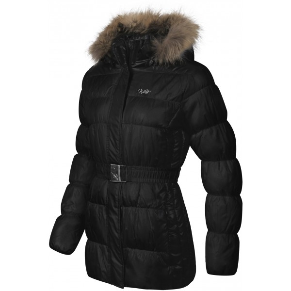 Willard MIA FUR černá M - Dámský kabát