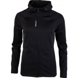 Reebok WORKOUT READY ZIP HOODIE - Women's sweatshirt