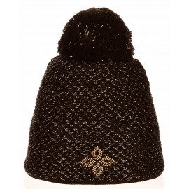 R-JET SPORT FASHION EXLUSIVE GOLDEN LUREX - Women's knitted hat