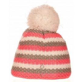R-JET SPORT FASHION EXLUSIVE PRUH C LUREX - Дамска плетена шапка