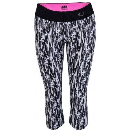 Women's 3/4 length fitness tights - Axis FITNESS LEGÍNY - 2