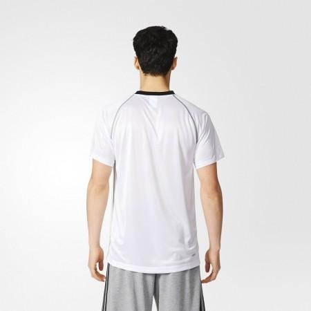 Men's Training T-shirt - BASE PLAIN TEE - adidas BASE PLAIN TEE - 4