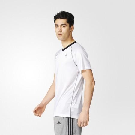 Men's Training T-shirt - BASE PLAIN TEE - adidas BASE PLAIN TEE - 5