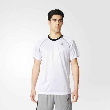 Men's Training T-shirt - BASE PLAIN TEE - adidas BASE PLAIN TEE - 3