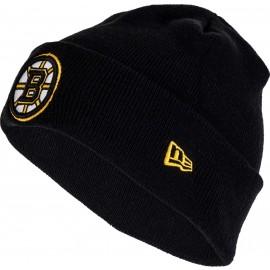 New Era NHL CUFF KNIT BOSBRU - Klubová zimní čepice