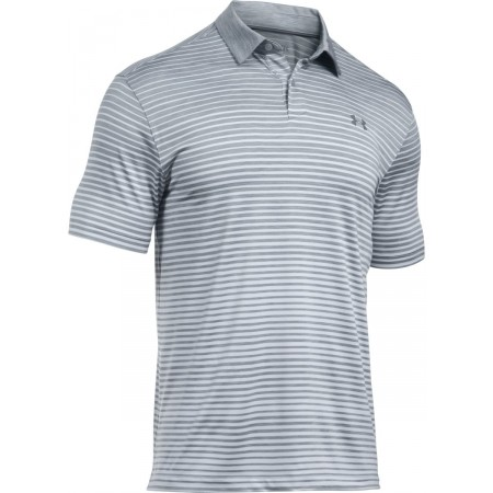 Under Armour TRAJECTORY STRIPE POLO - Men's T-shirt