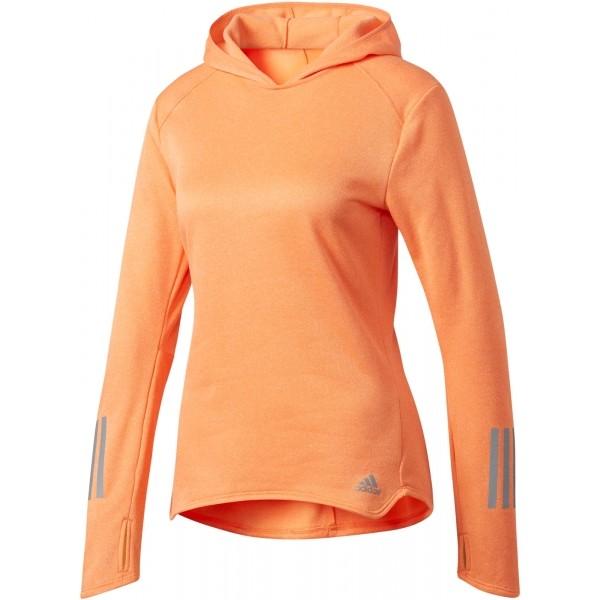 adidas RS ASTRO HOOD W pomarańczowy XL - Bluza damska