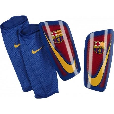 52a518ec3b06e Fotbalové chrániče holení - Nike FC BARCELONA MERCURIAL LITE