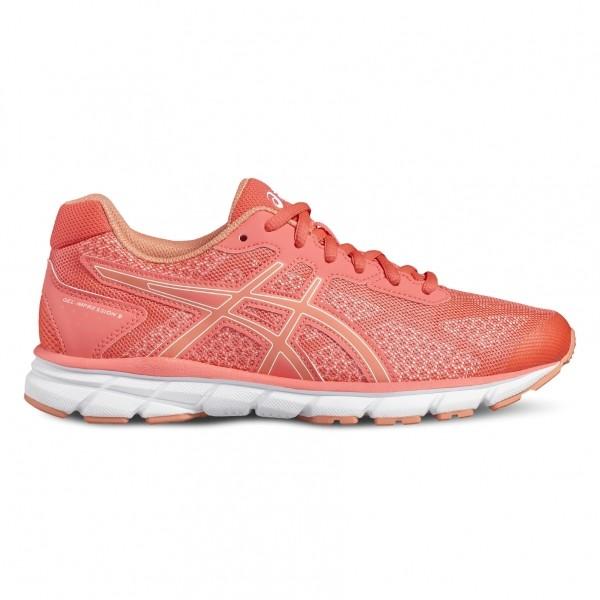 Asics GEL-IMPRESSION 9 W oranžová 8 - Dámská běžecká obuv