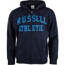 Russell Athletic TRANSFER PRINT HOODY FULL ZIP - Pánska mikina