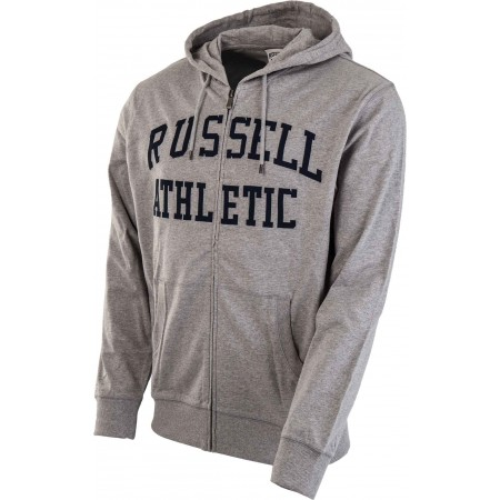 0e7132b962 Pánská mikina - Russell Athletic TRANSFER PRINT HOODY FULL ZIP - 2