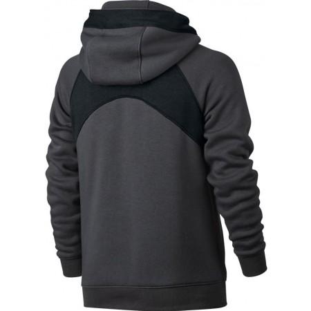 Nike B NK Air Hoodie PO BF Sweatshirt for Boys, Black (Black