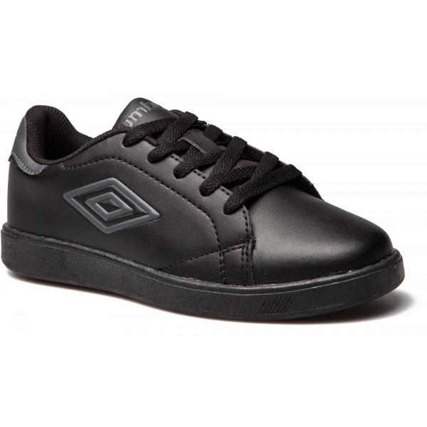 Umbro MEDWAY 3 LACE JNR černá 6Y - Dětská volnočasová obuv