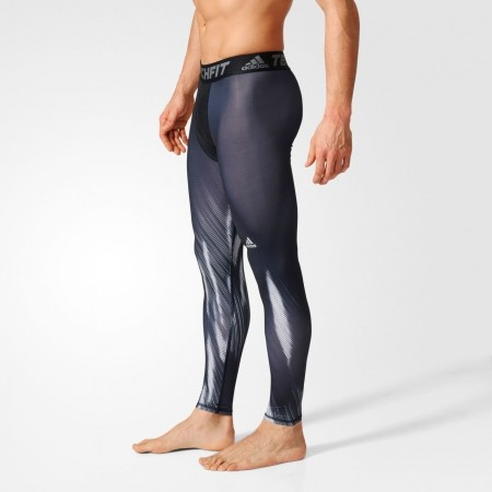 31d2d3c03b012 Men's tights - adidas TF BASE GFX LT - 4