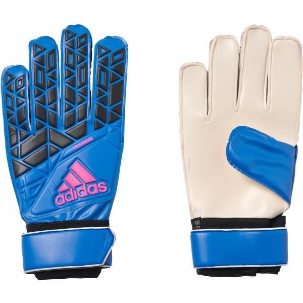 adidas ACE TRAINING modrá 12 - Brankářské rukavice