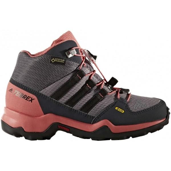 adidas TERREX MID GTX K ružová 35 - Detská outdoorová obuv