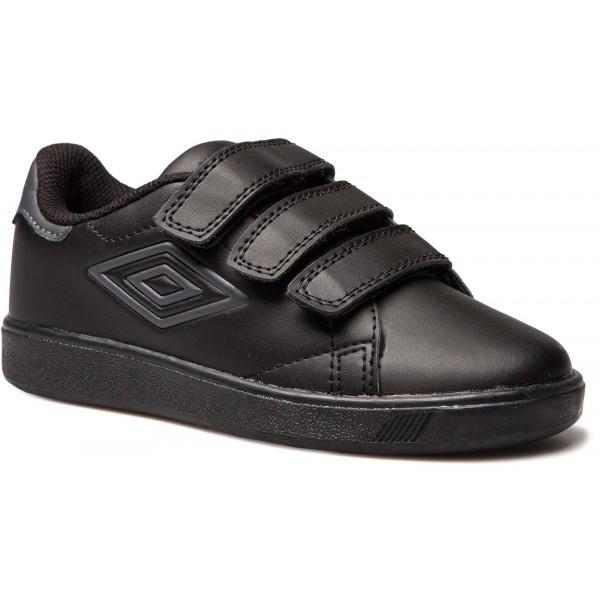 Umbro MEDWAY 3 VELCRO JNR fekete 12.5C - Gyerek szabadidőcipő