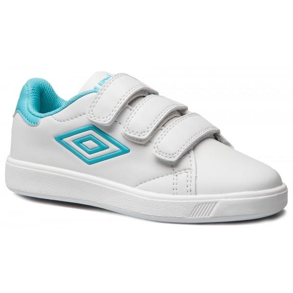 Umbro MEDWAY 3 VELCRO JNR fehér 2.5Y - Gyerek szabadidőcipő