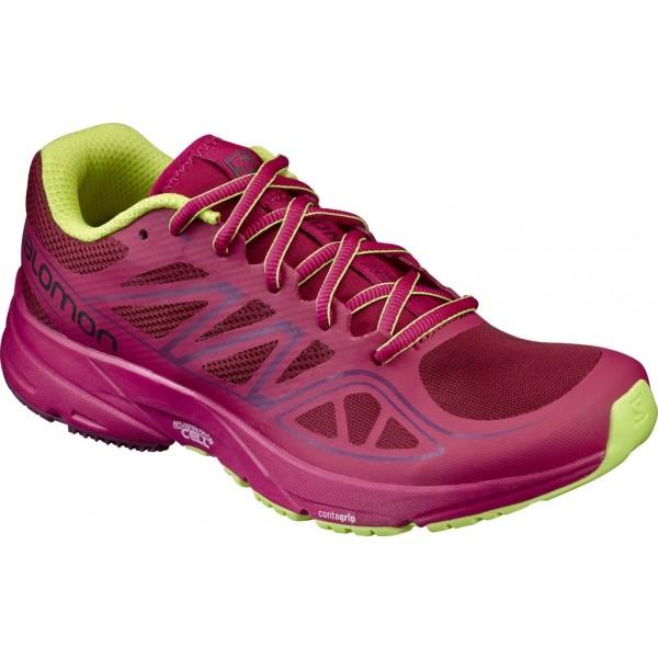 Salomon SONIC AERO W różowy 5 - Obuwie do biegania damskie
