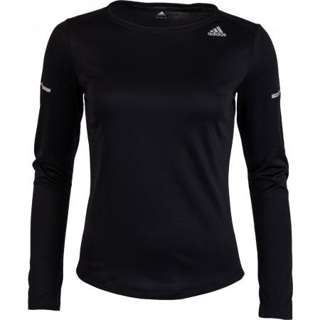 4e17dbf4872b9 Dámske bežecké tričko - adidas SQ CC RUN LS TEE W - 1
