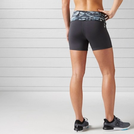 Women's running shorts - Reebok ESSENTIALS HOT SHORT - 3