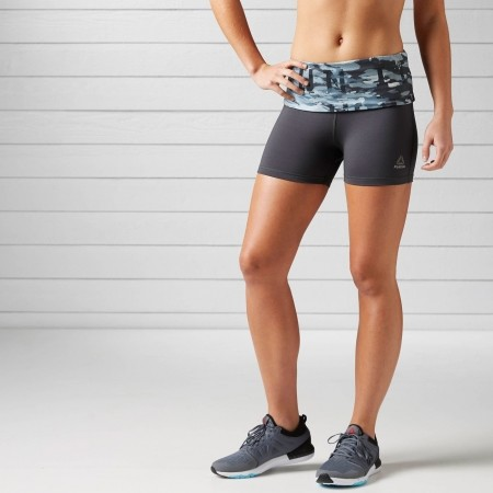 Women's running shorts - Reebok ESSENTIALS HOT SHORT - 2