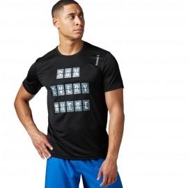 Reebok ESSENTIALS SS TEE - Мъжка тениска за бягане