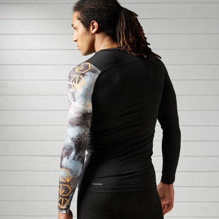 a165341f6803 Pánské elastické tričko - Reebok SRM LS COMP - 2