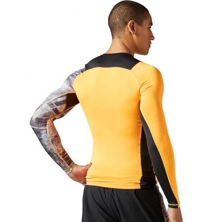 e7e06830f7dd Pánské elastické tričko - Reebok SRM LS COMP - 5