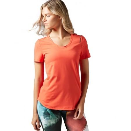 Dámské tričko - Reebok WORKOUT READY SPEEDWICK TEE - 1 0f904ced26