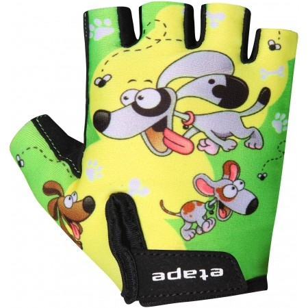 Detské cyklistické rukavice - Etape REX RUKAVICE KIDS - 1