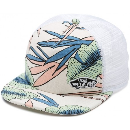ba163942e6b78 Women s trucker hat - Vans BEACH BOUND TRUCKER White Sand Tropical - 1