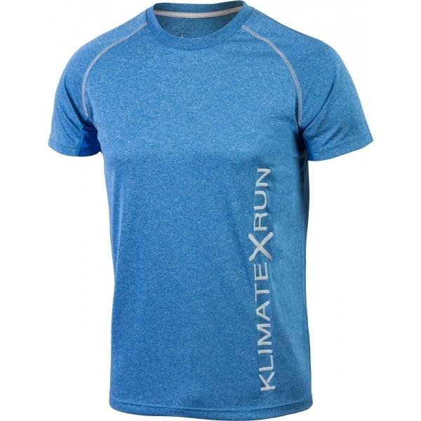 Klimatex TIDDO niebieski XXL - Koszulka do biegania męska